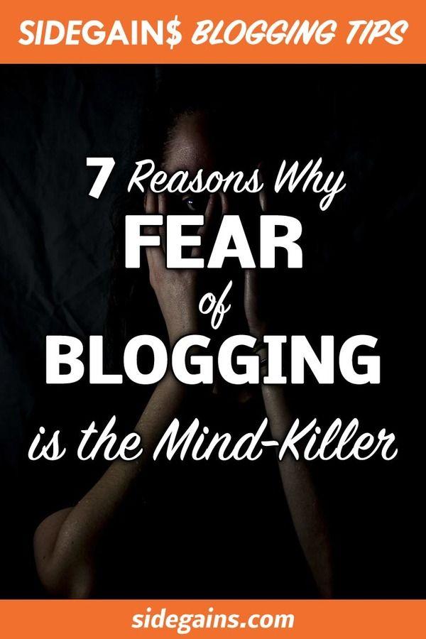 Blogging Fear