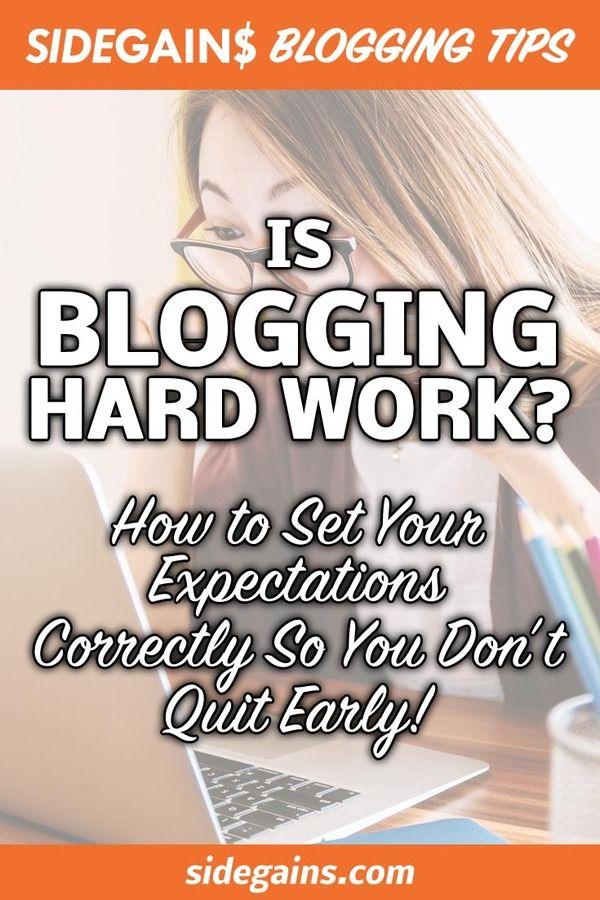 Pinterest: Is Blogging Hard?