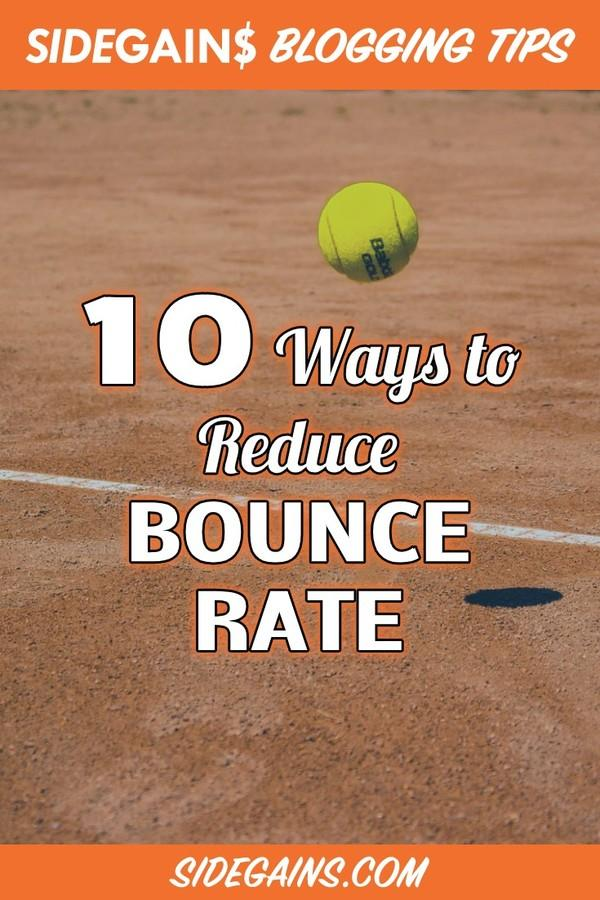 Bounce Rate Pinterest Image