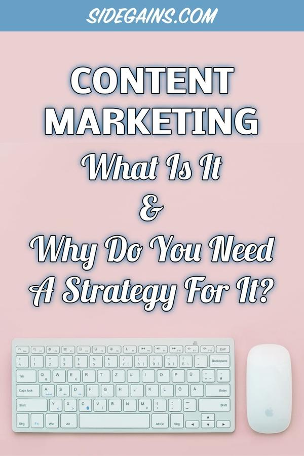 Content Marketing Pin