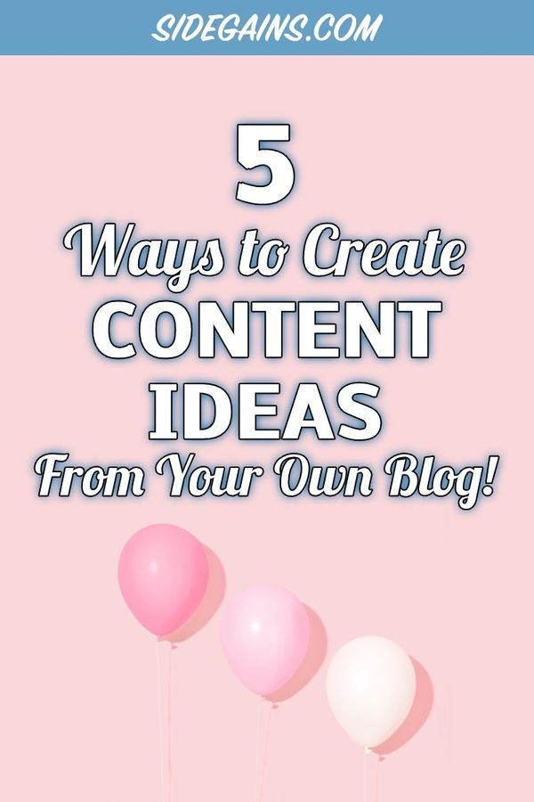 Generate Content Ideas
