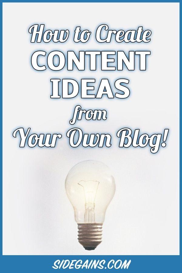 Creating Content Ideas