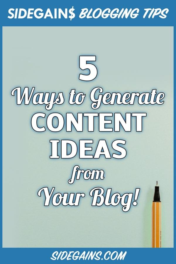 How to Create Ideas for Content