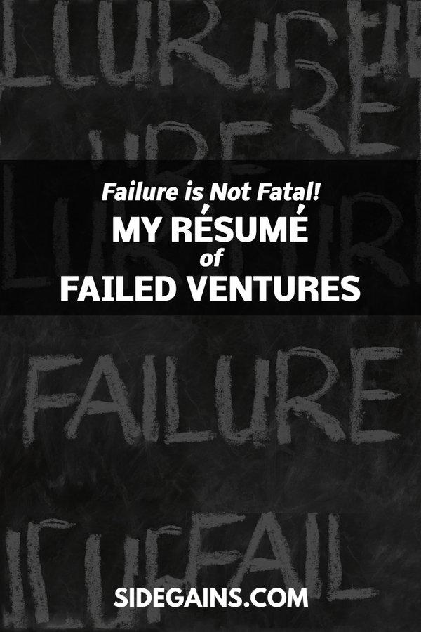 Pinterest Failure is Not Fatal Share