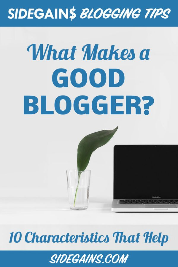Pinterest What Makes a Blogger Good?