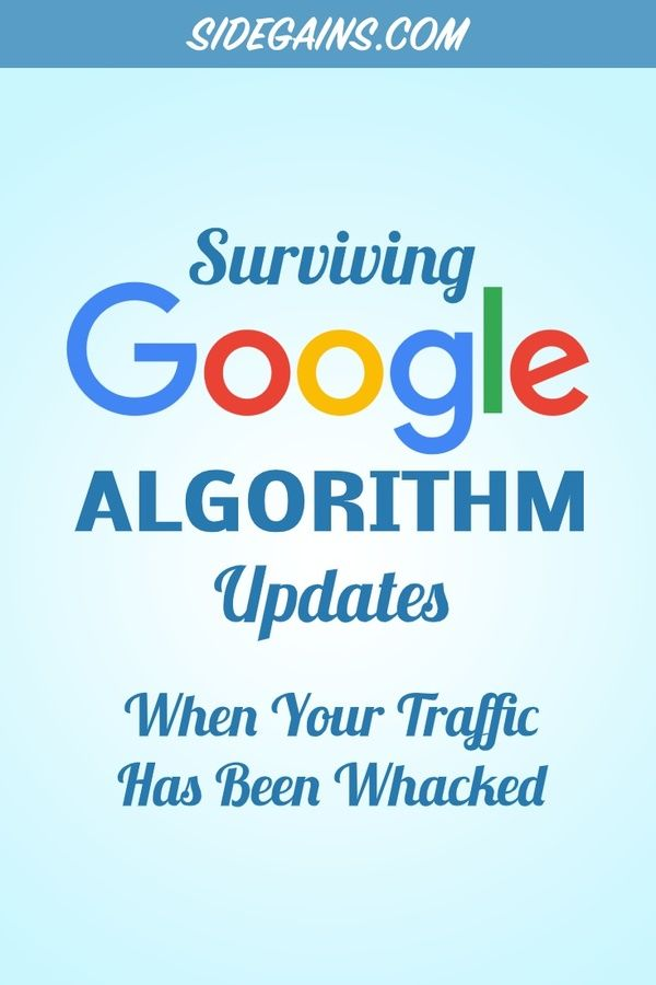 How to Survive a Google Algorithm Update