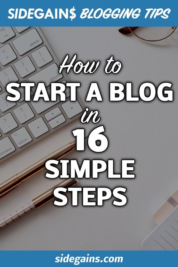 Starting a Blog Guide