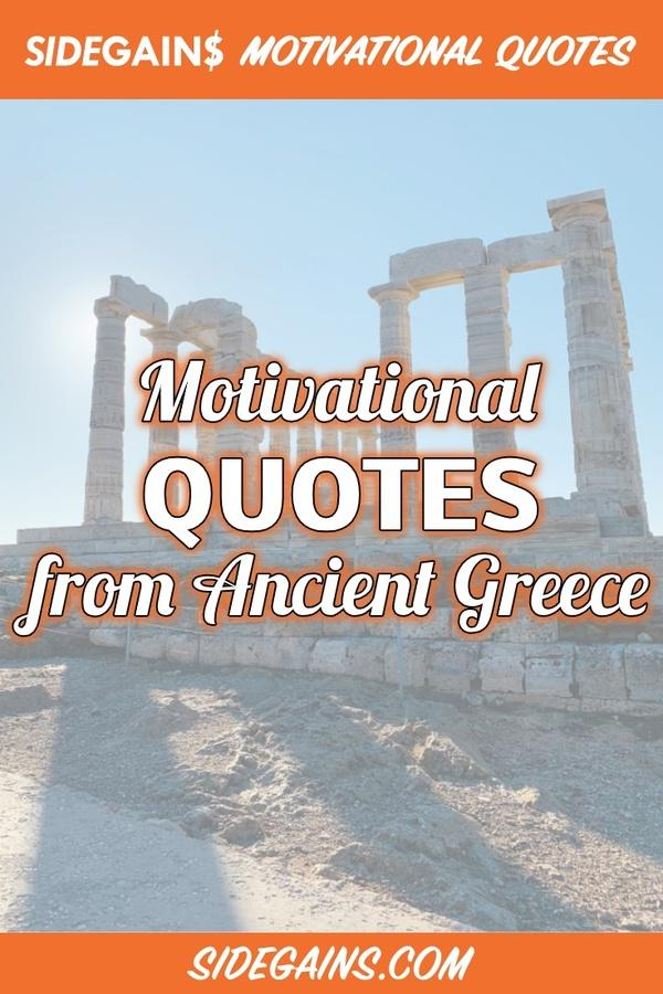 Inspirational Quotes from Greek Philosophers