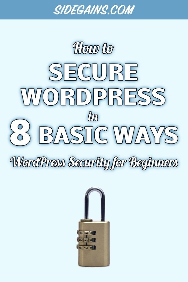 Basic Ways to Beef up WordPress Security