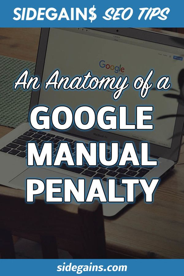 Google Manual Penalties
