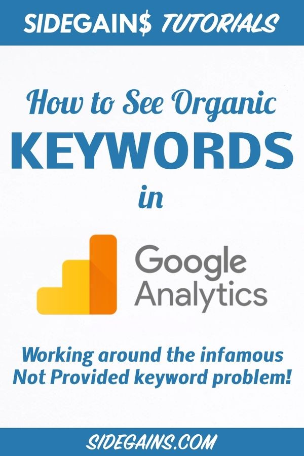 Google Analytics Not Provided Keyword