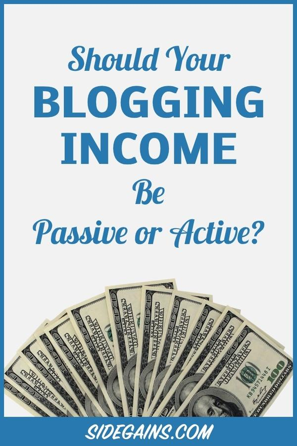 Blogging for Active Income