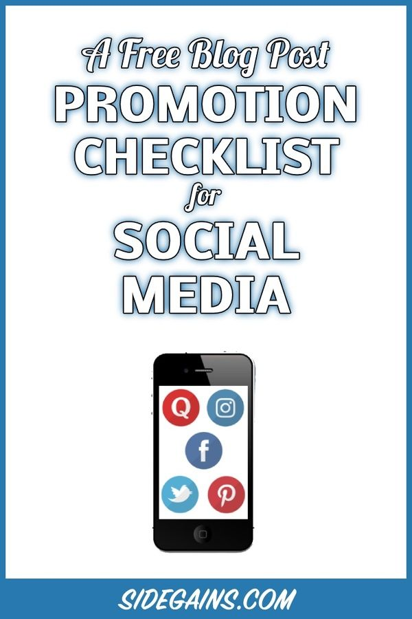 Promoting Your Blog Posts in Social Media