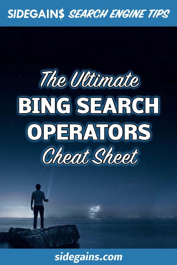 Search Operators Cheat Sheet