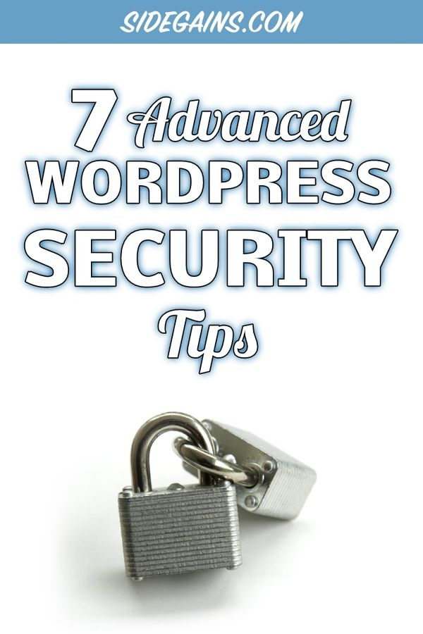 Best Advanced Practices for WordPress Security