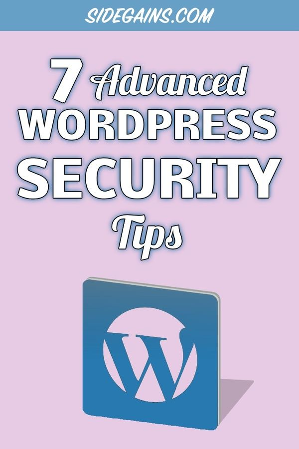 WordPress Security Pinterest