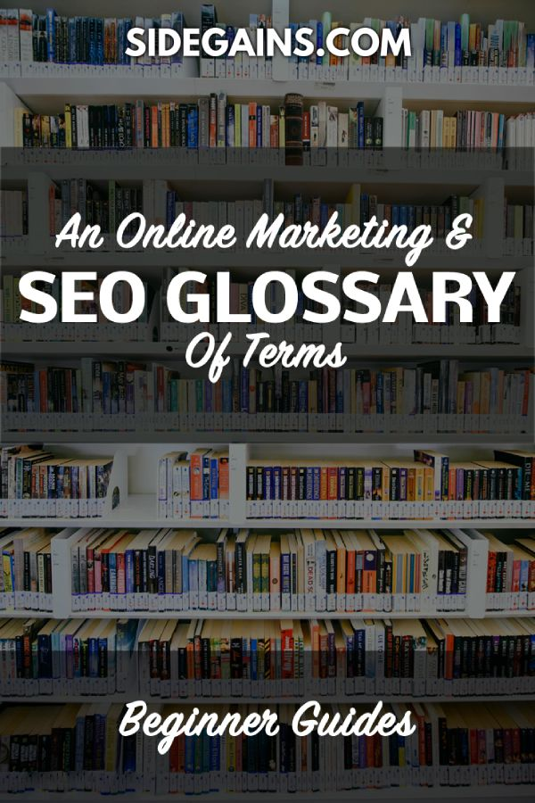 An SEO Glossary of Terms