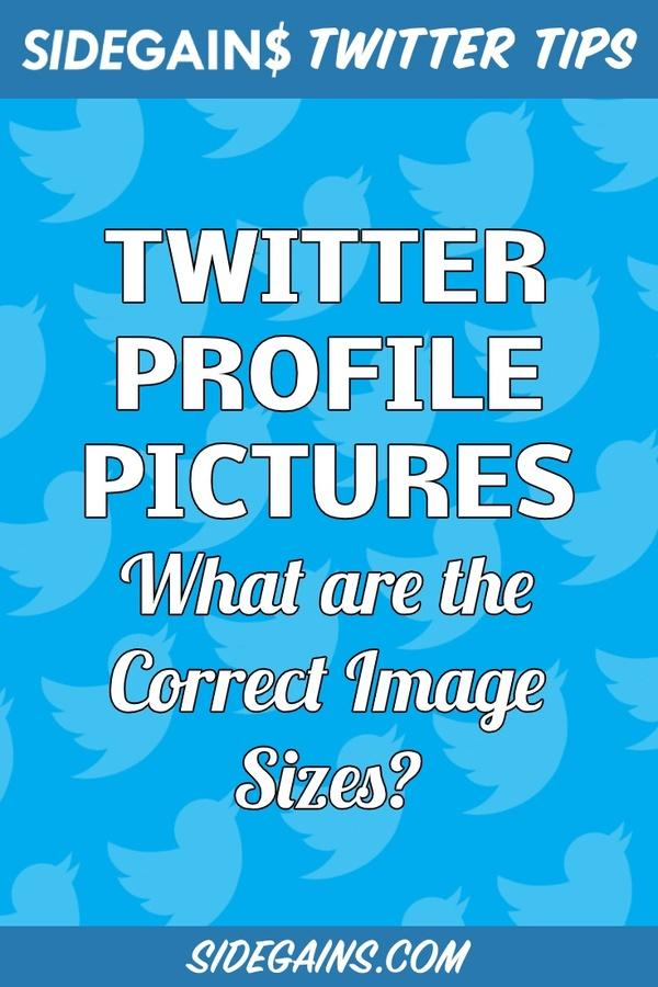 What are the Correct Twitter Profile Image Sizes?