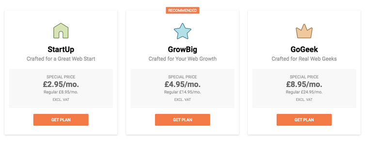 SiteGround Pricing Review UK