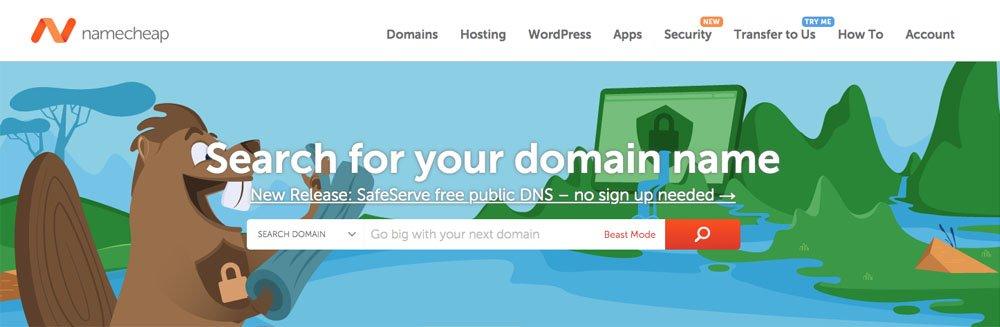 Namecheap - Register a Domain Name