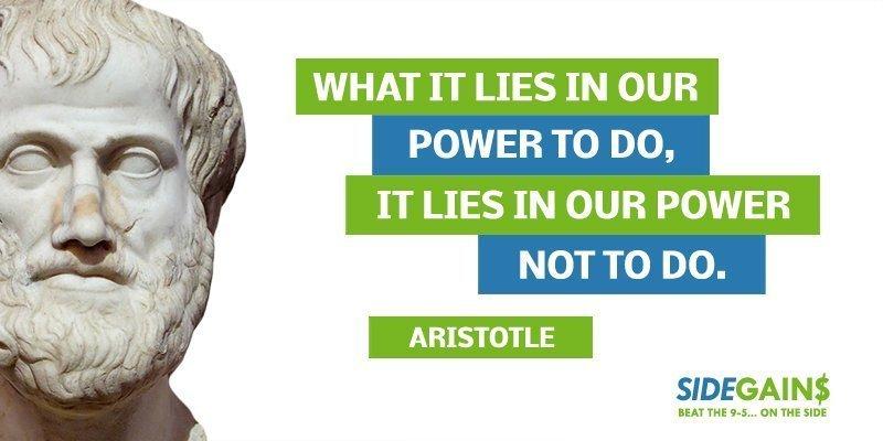 Aristotle Power Quote