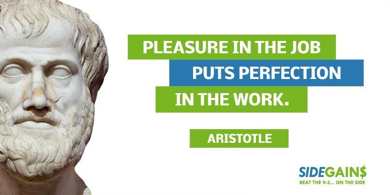 Aristotle Work Quote