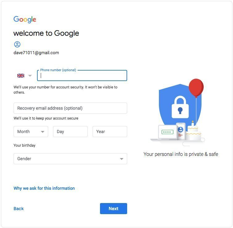 Welcome to Your Google Account