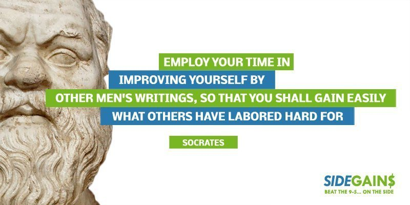 Socrates Inspirational Quote