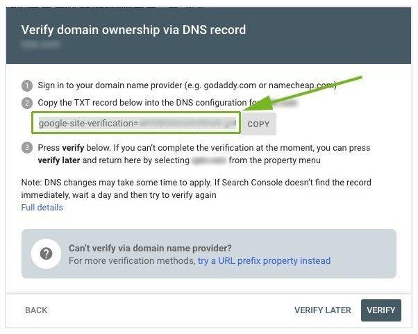 Verify Domain Property Type