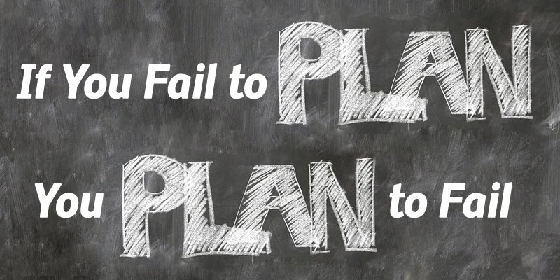 Why Blogs Fail - Planning