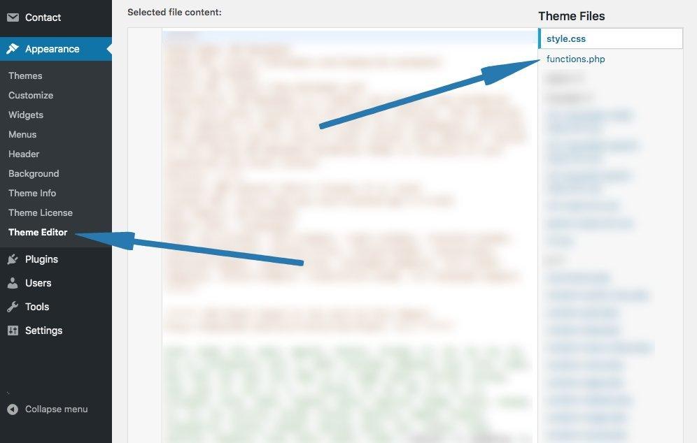 Disallow WordPress Admin File Editing