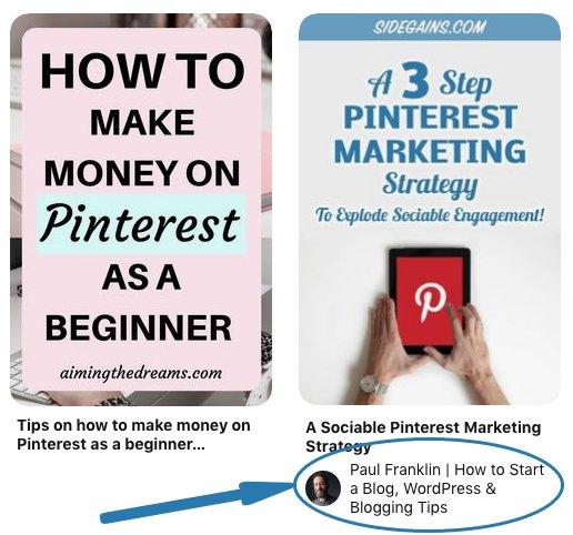 Pinterest Rich Pin Example
